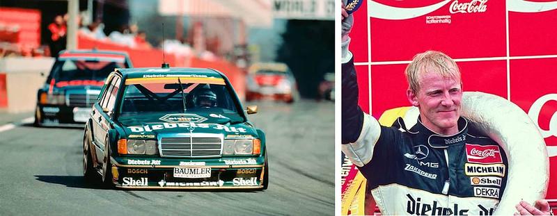 Kurt-Thiim-1992 ZakspeedMercedes 190E 2.5-16 Evo2
