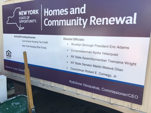 'Comunilife Woodhull' groundbreaking in Brooklyn