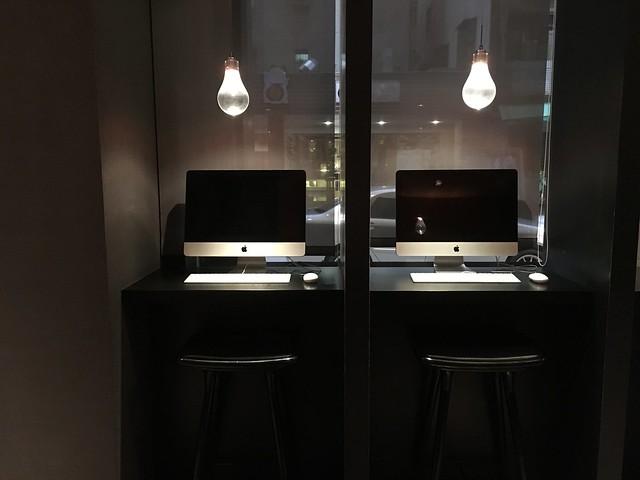 提供 Mac 讓住客可以使用@高雄Hotel dùa住飯店