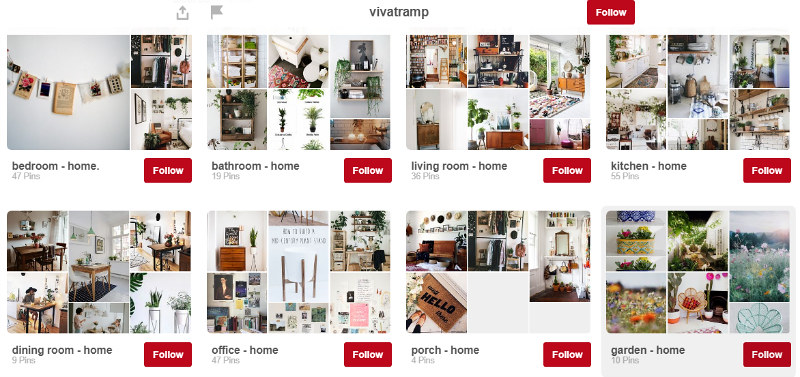 vivatramp pinterest home boards uk blog
