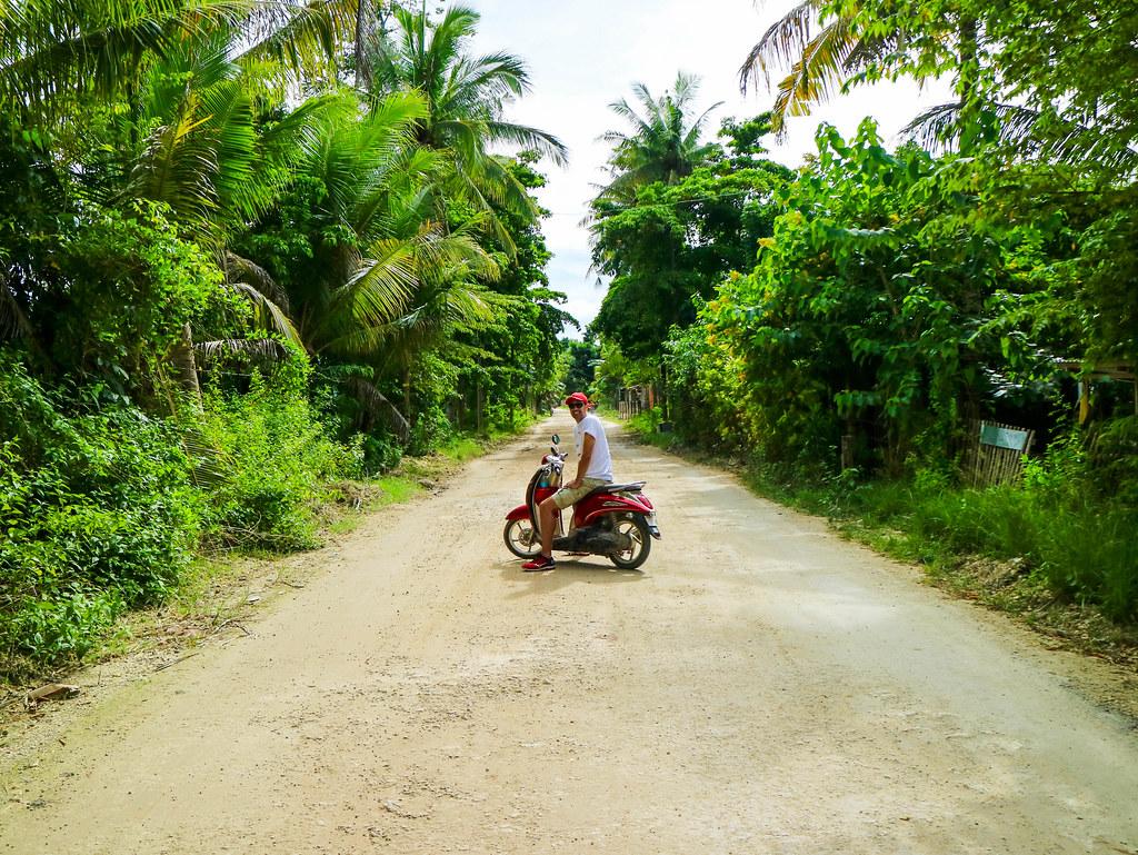 Moto en Bantayan