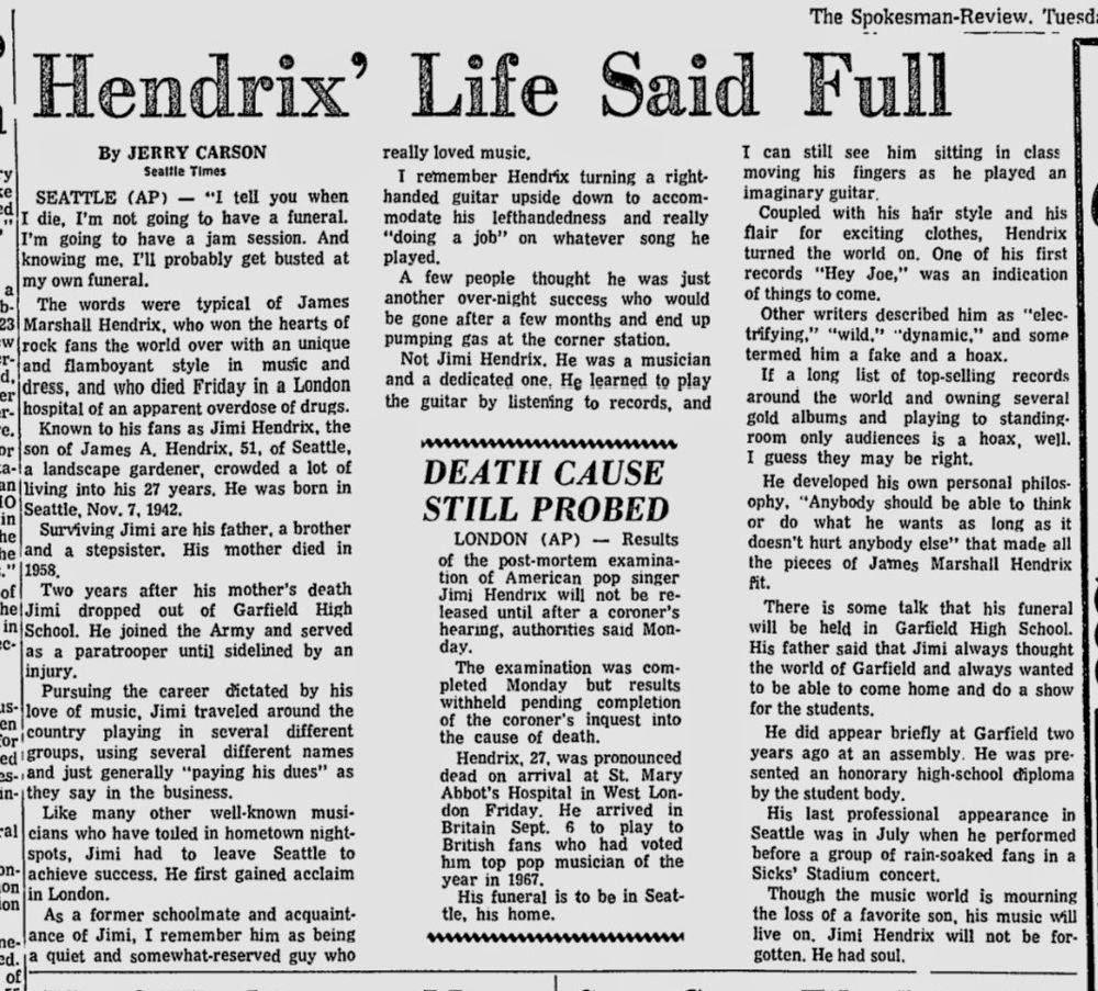 THE SPOKESMAN REVIEW (WASHINGTON) SEPTEMBER 22, 1970  2