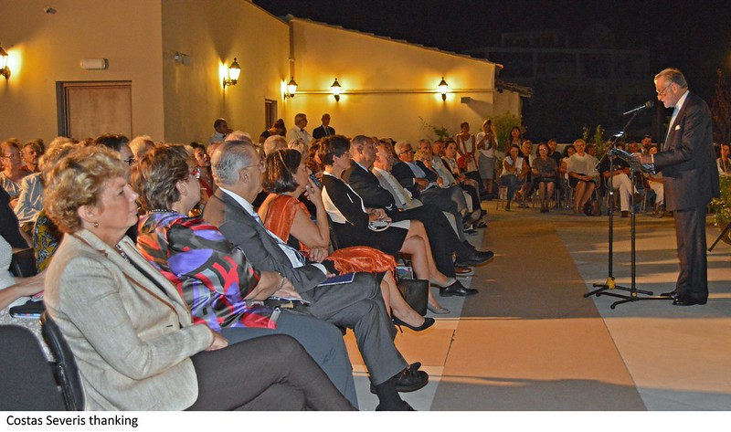 Ceremony for Centre of Visual Arts and Research, Nicosia