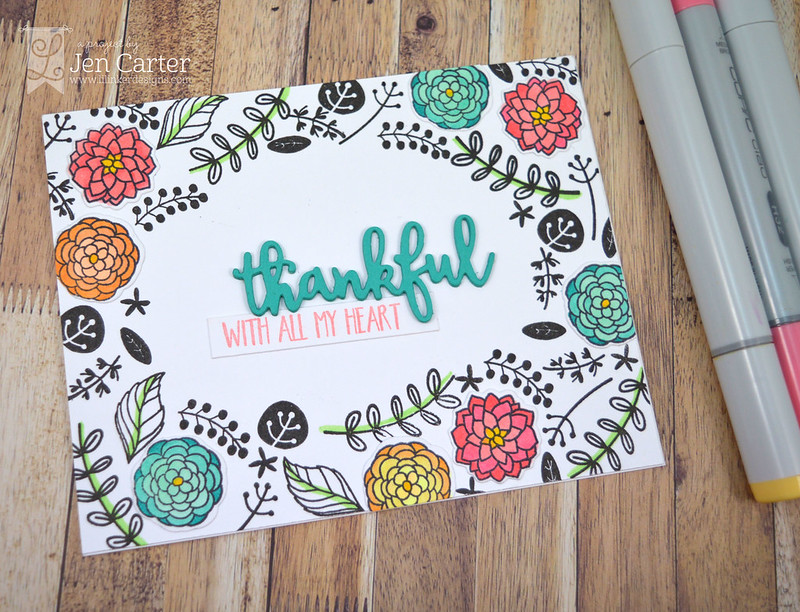 Jen Carter Thankful Thoughts Heart wm