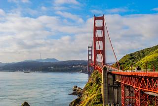 Golden Gate bridge from 2013