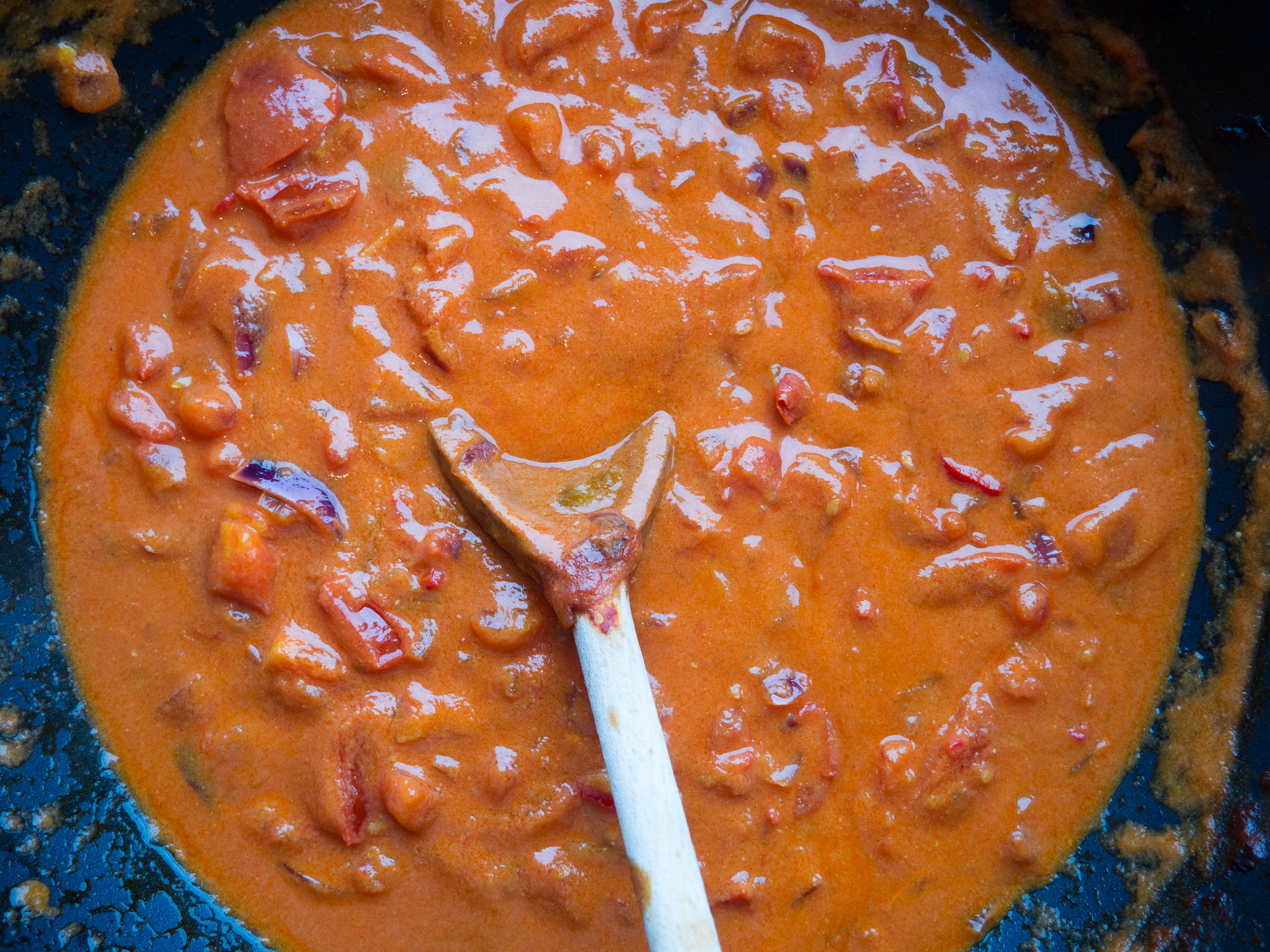 Recipe for Homemade Spicy Tomato Lime Coconut Soup