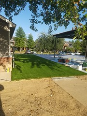 Synthetic Grass AirDrain Install on Cement