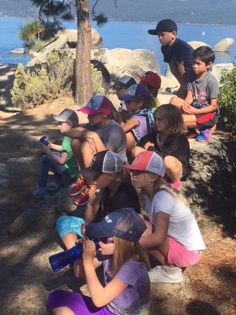 3rd Grade Sand Harbor Field Trip