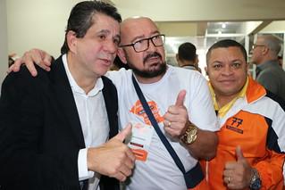David Martins recebe participantes da Conveção Estadual SP
