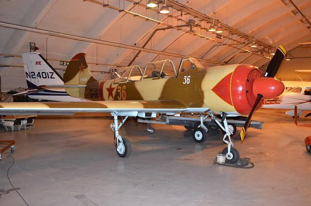 G-IUII Aerostar Yakovlev Yak-52