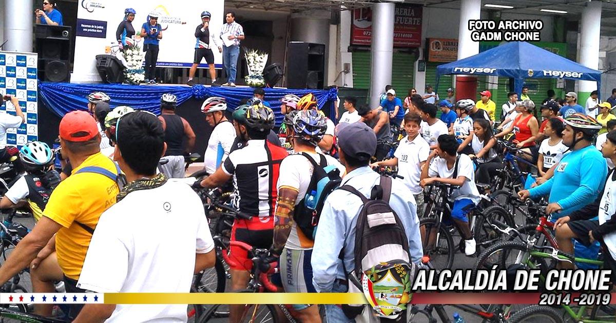 Por Festival del Chame alcaldía de Chone realizará ciclo paseo