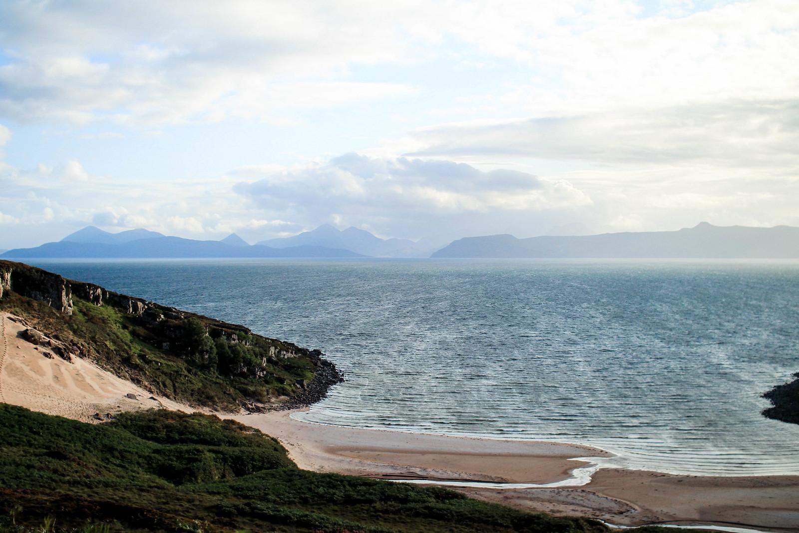 Applecross Peninsula Scotland NC500 Route travel blogger UK