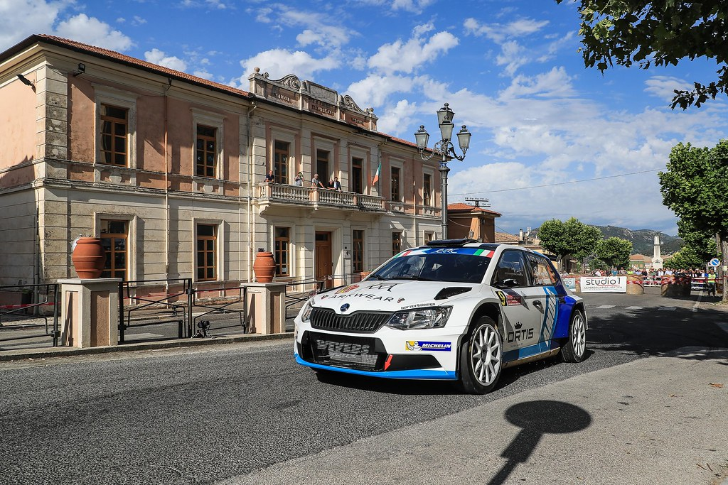 09 VON THURN UND TAXIS Albert (DEU) DEGANDT Bjorn (BEL) Skoda Fabia R5 action during the 2017 European Rally Championship ERC Rally di Roma Capitale,  from september 15 to 17 , at Fiuggi, Italia - Photo Jorge Cunha / DPPI