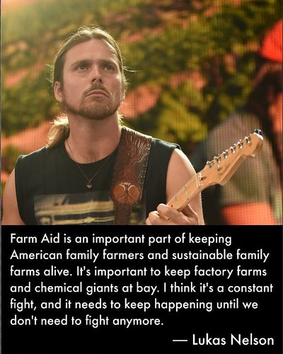 Some #WednesdayWisdom from Lukas Nelson, @lukasnelsonofficial.