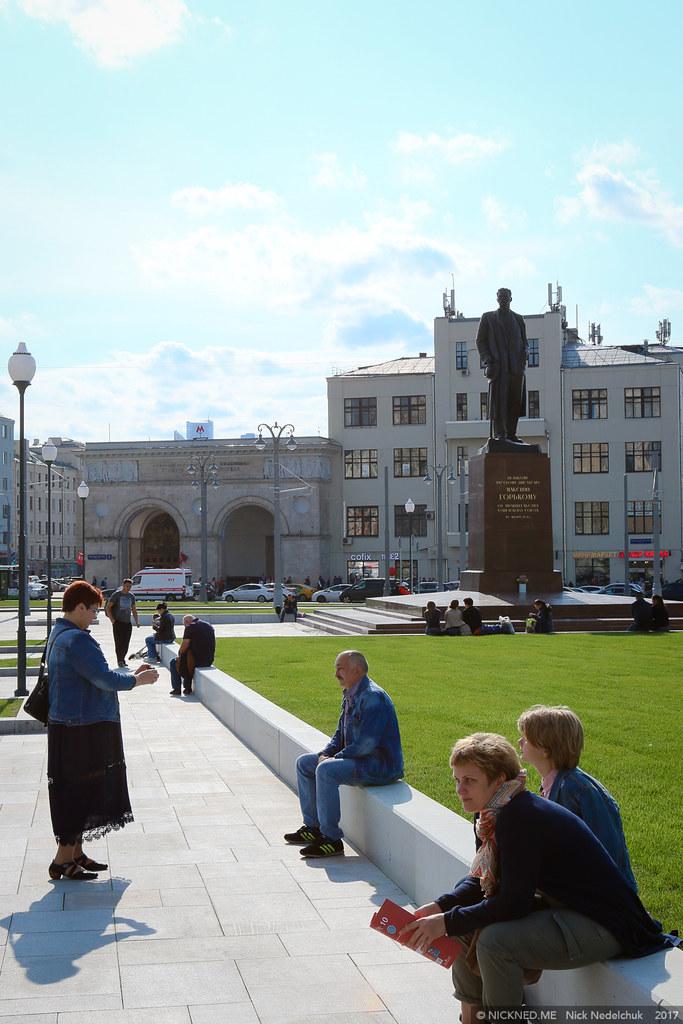 Площадь у Белорусского вокзала просто не узнать! IMG_4230
