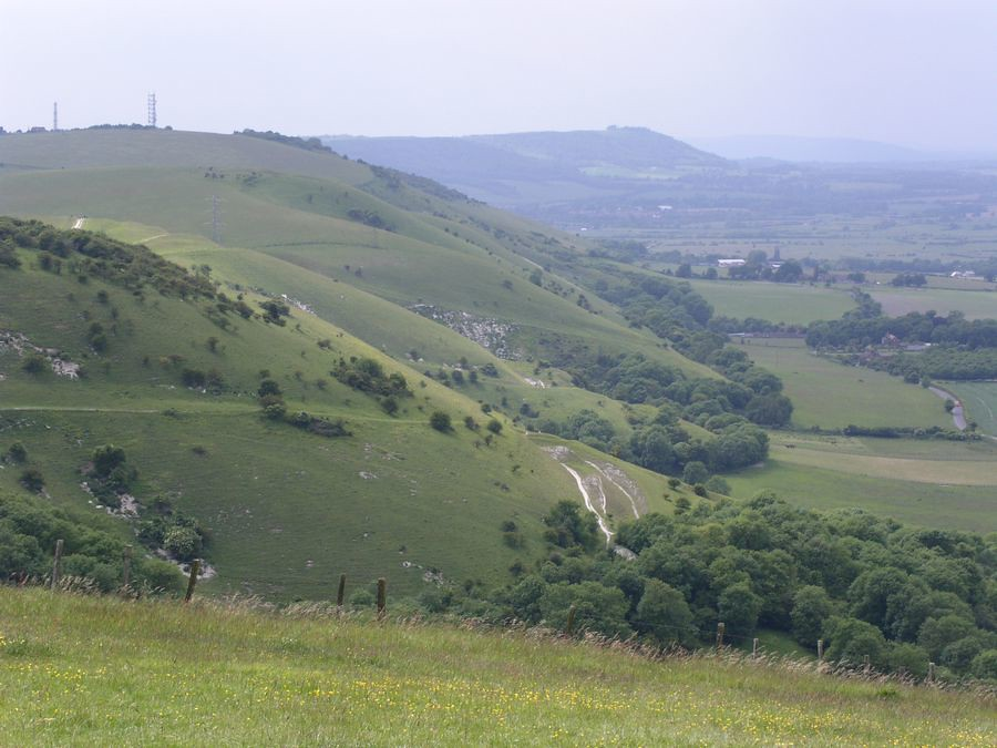 Truleigh Hill from Devils Dyke