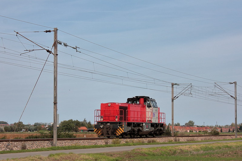 Vossloh 5001867 - G 1206 - VFLI 61741 / Morbecque