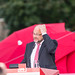Martin Schulz (SPD) delivering a speech in Cologne by marcoverch