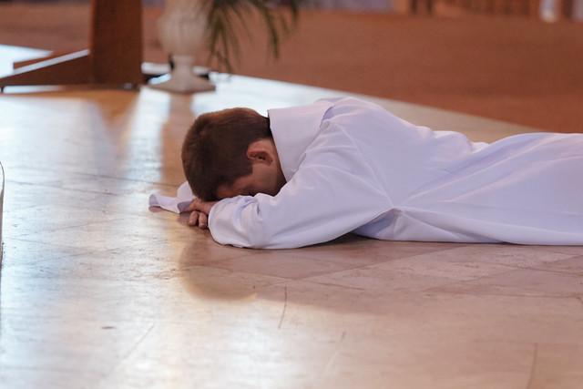 Ordination diaconale en vue du sacerdoce de David Antao Martins