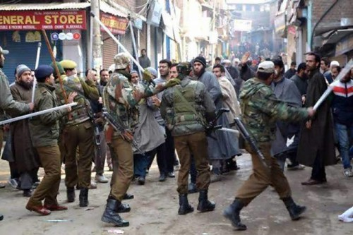Indian Army play havoc in IOK