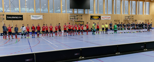 Bülach Floorball vs. Nesslau Sharks (01.10.2017)