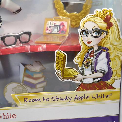 Back to School Apple White