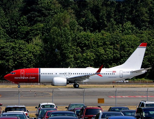 Norwegian Airlines, Boeing 737 Max 8.....2017-0801-298