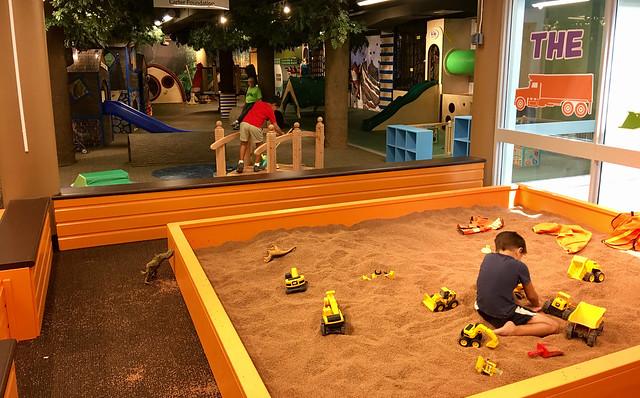 Kids Square - Dig Pit