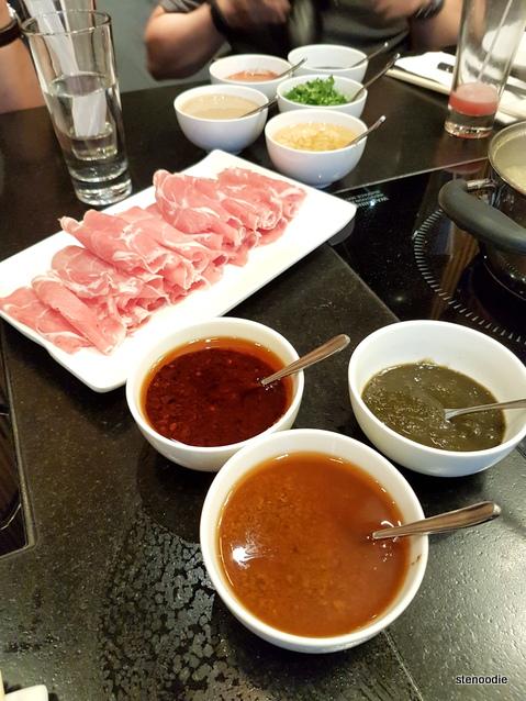 customized dipping sauce