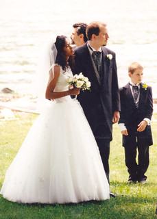 Bride, Groom and Page