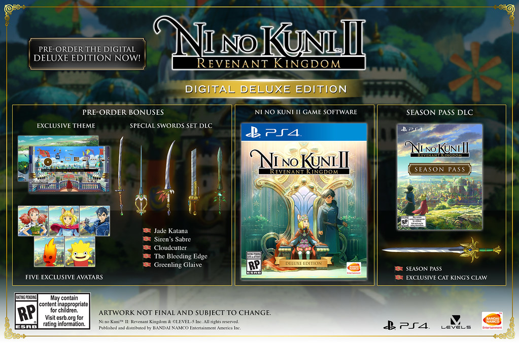 Ni no Kuni II Digital Deluxe Edition