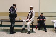 Snake, Jet, & an officer