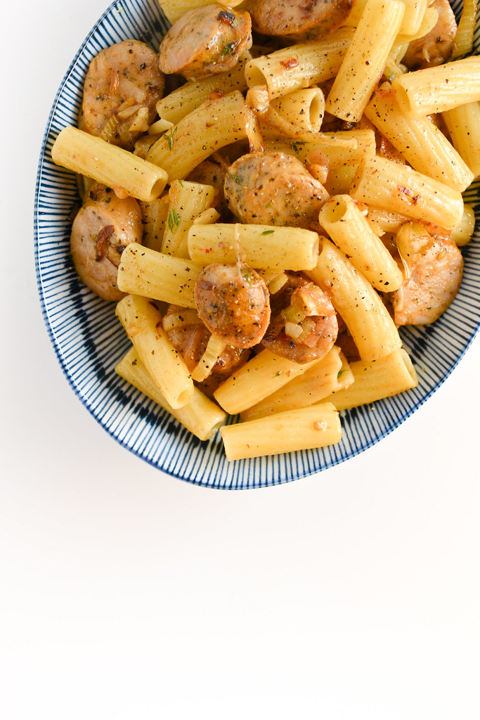 Caramelized Fennel Pasta with Sausage | Things I Made Today