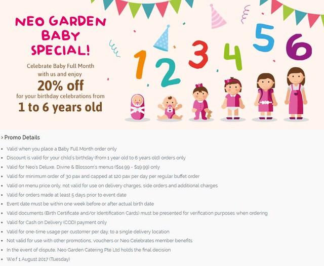 Neo Garden Baby Promo