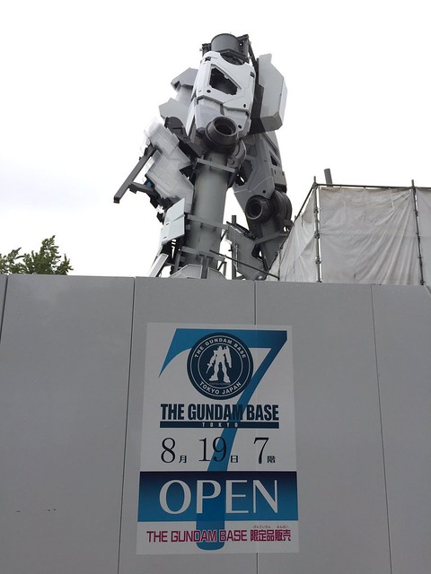 Gundam Unicorn Real Life Size -
