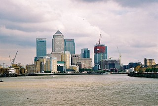 By The Thames, Canary Wharf