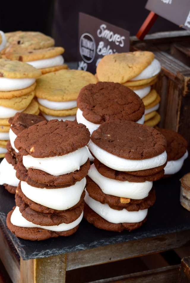 S'mores Cookies at We Love Hythe Food Festival | www.rachelphipps.com @rachelphipps
