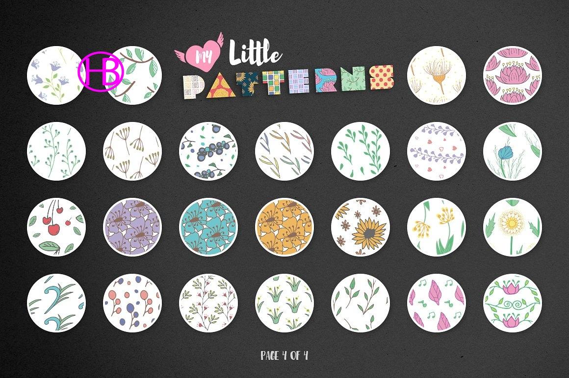 Pattern hoa văn cho Illustartor và Photoshop