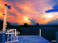 Dusk Painting On The Sky Opposite Tampa Bay Sunset - IMRAN™