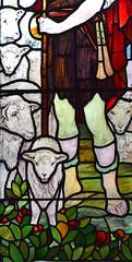 The Good Shepherd (detail, Walter Pearce, 1903)