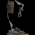 Bruce MacMullan; Escape; Steel, scrap metal on granite; 2016 -