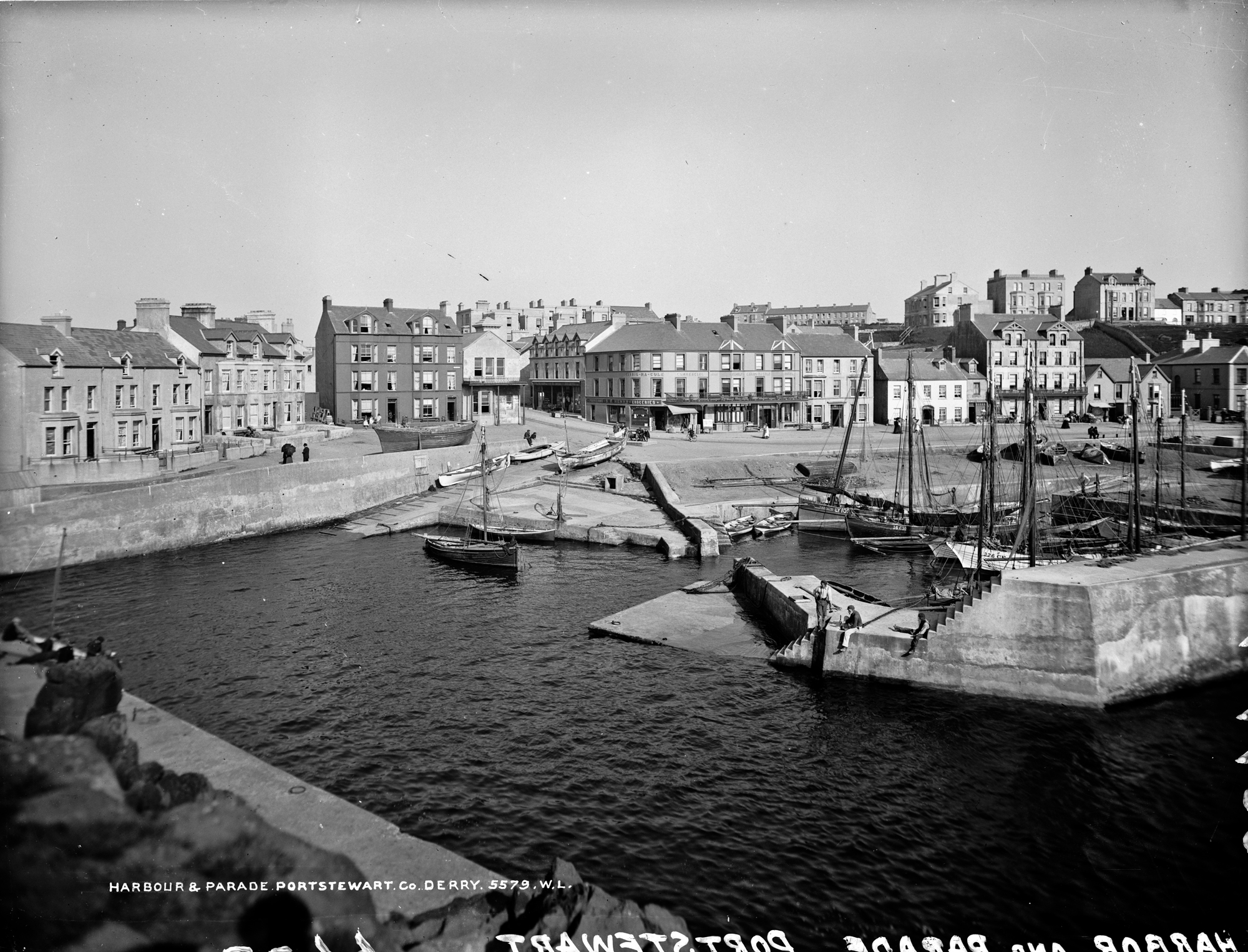 Harbour & Parade, Portstewart, Co. Derry