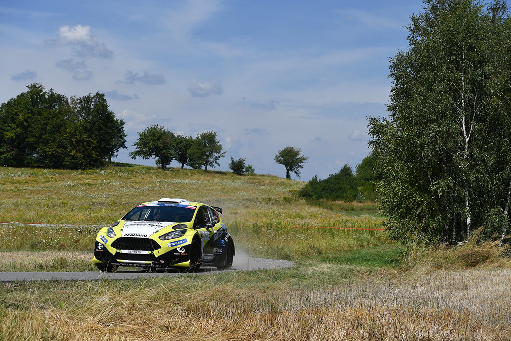 23 NEMET Laszlo (HUN) SZEGO Anos (HUN) Ford Fiesta R5 action during the 2017 European Rally Championship Rally Rzeszowski in Poland from August 4 to 6 - Photo Wilfried Marcon / DPPI