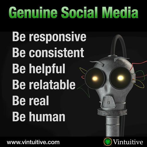 Genuine Social Media
