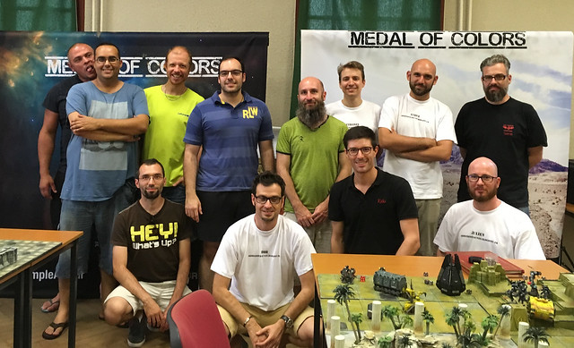 Medal of Colors Horus Heresy 2017 group