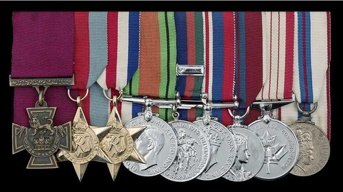 Lt. Col. David Currie medals