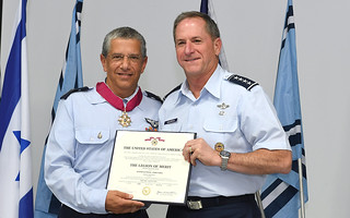 Chief of Staff of the U.S. Air Force, General David Goldfein Attends Israeli Air Force Change of Command