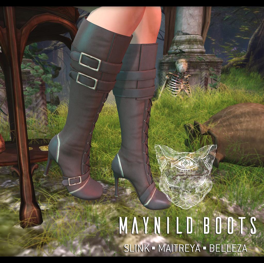 MaynildBootsAD - SecondLifeHub.com