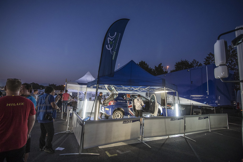 52 MUNNINGS Catie (GBR) STEIN Anne Katharina (AUT) Peugeot 208 R2 ambiance during the 2017 European Rally Championship ERC Barum rally,  from August 25 to 27, at Zlin, Czech Republic - Photo Gregory Lenormand / DPPI