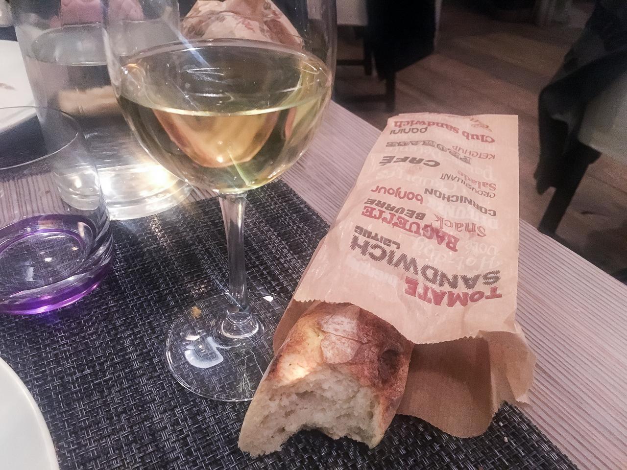 Ravintolasuositus Pariisi l'envie du jour patonki